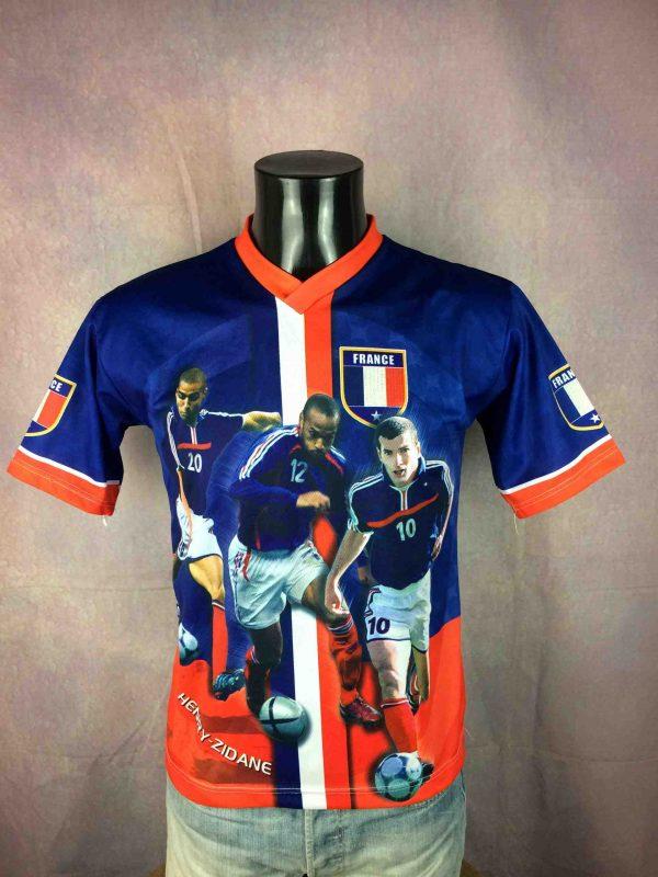 FRANCE Jersey Zidane Trezeguet Henry 2002 Fan - Gabba Vintage