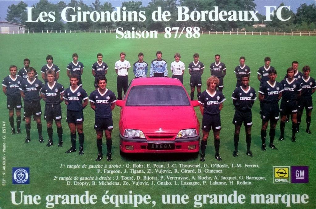 Girondins de Bordeaux 1987-88