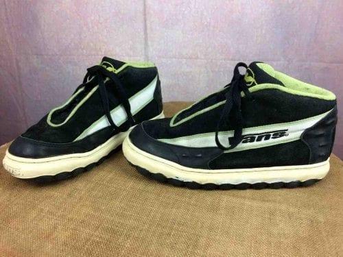 Chaussures Sneakers VANS, modèle Scribe, Véritable vintage années 90, Made in Korea, Snow Skate Neige