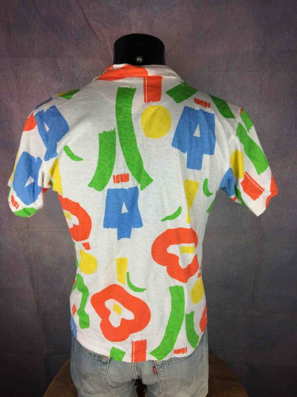 INTERFACE Chemise Vintage 80s Made in France Gabba Vintage 1 scaled - INTERFACE Chemise Vintage 80s Made in France
