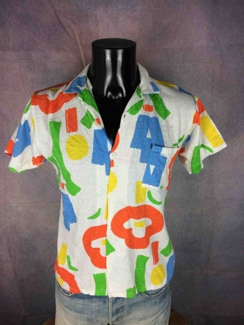 INTERFACE Chemise Vintage 80s Made in France - Gabba Vintage