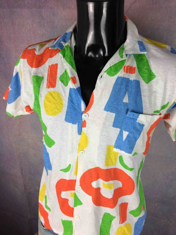 INTERFACE Chemise Vintage 80s Made in France Gabba Vintage 3 scaled - INTERFACE Chemise Vintage 80s Made in France