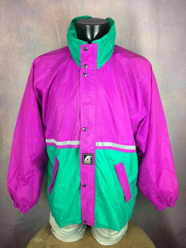 K WAY 2000 International Jacket Vintage 90s - Gabba Vintage