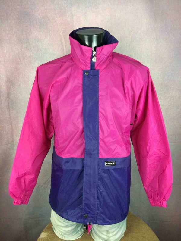 K-WAY International Jacket Veste Vintage 90s - Gabba Vintage