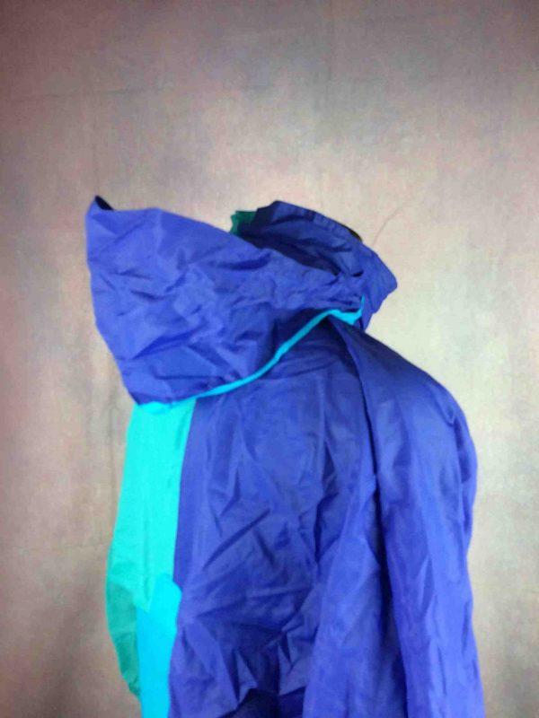 K WAY Rain Jacket Vintage 90 Waterproof Gabba Vintage 1 scaled - K-WAY Imperméable Vintage Année 90 Veste