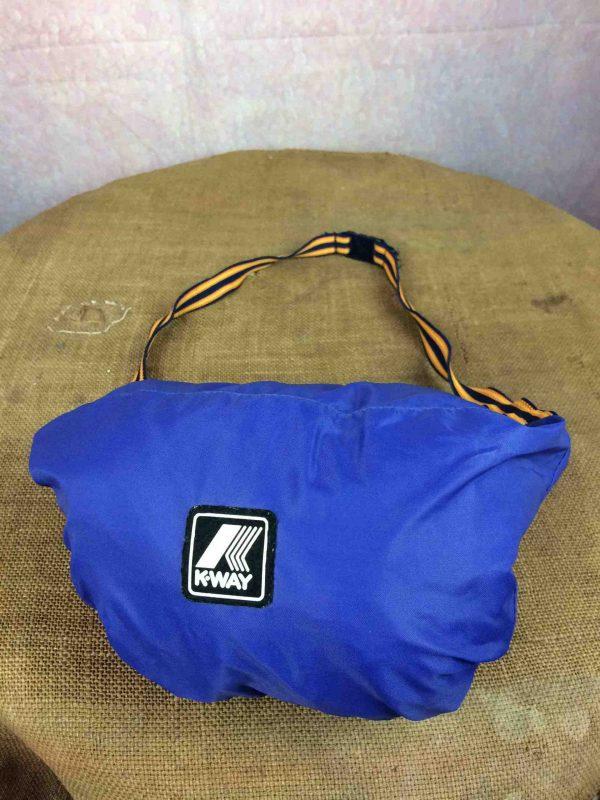 K WAY Rain Jacket Vintage 90 Waterproof Gabba Vintage 2 scaled - K-WAY Imperméable Vintage Année 90 Veste