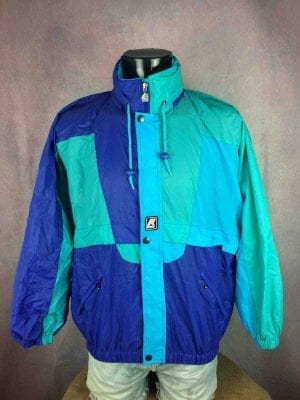 K-WAY Rain Jacket Vintage 90 Waterproof - Gabba Vintage