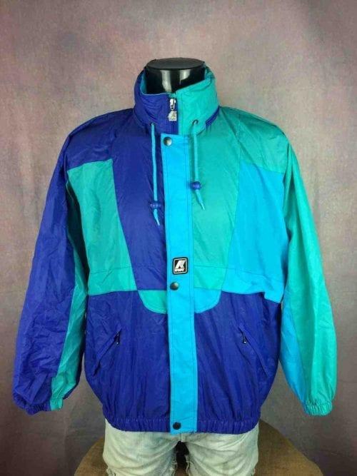 K-WAY Rain Jacket Vintage 90 Waterproof - Gabba Vintage