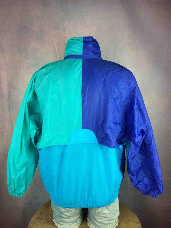K WAY Rain Jacket Vintage 90 Waterproof Gabba Vintage 8 scaled - K-WAY Imperméable Vintage Année 90 Veste