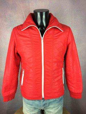LA HUTTE Jacket Vintage 80s Made in France - Gabba Vintage