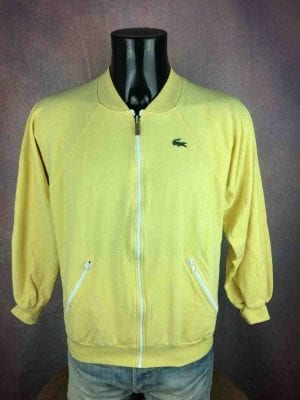 LACOSTE Jacket Vintage 80s Made in France - Gabba Vintage