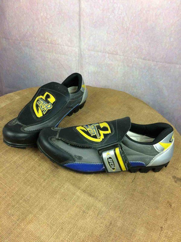 Chaussure Vélo LUCK, modèle Suter, Cyclo Cross, Véritable vintage années 90, Calles Time,Gravel Eroica Cycling Shoes