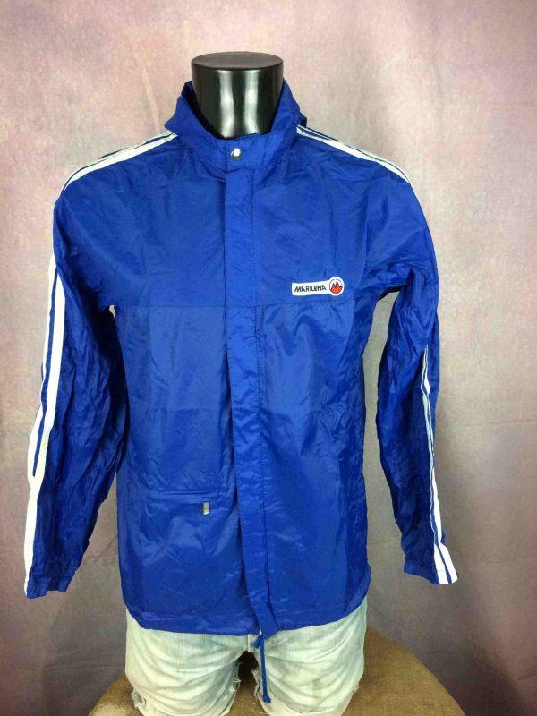 MARILENA Windbreaker Jacket Nylon Vintage 90s Gabba Vintage 3 scaled - MARILENA Windbreaker Jacket Nylon Vintage 90s
