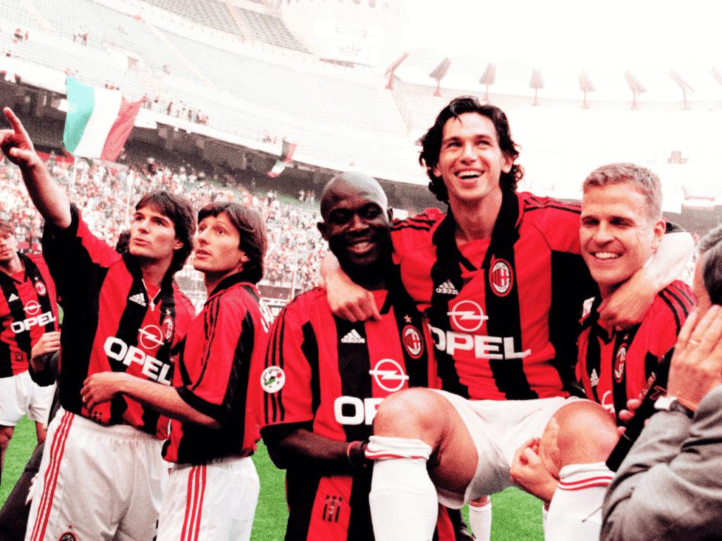 Maillot du jour : AC Milan 1998 – 1999