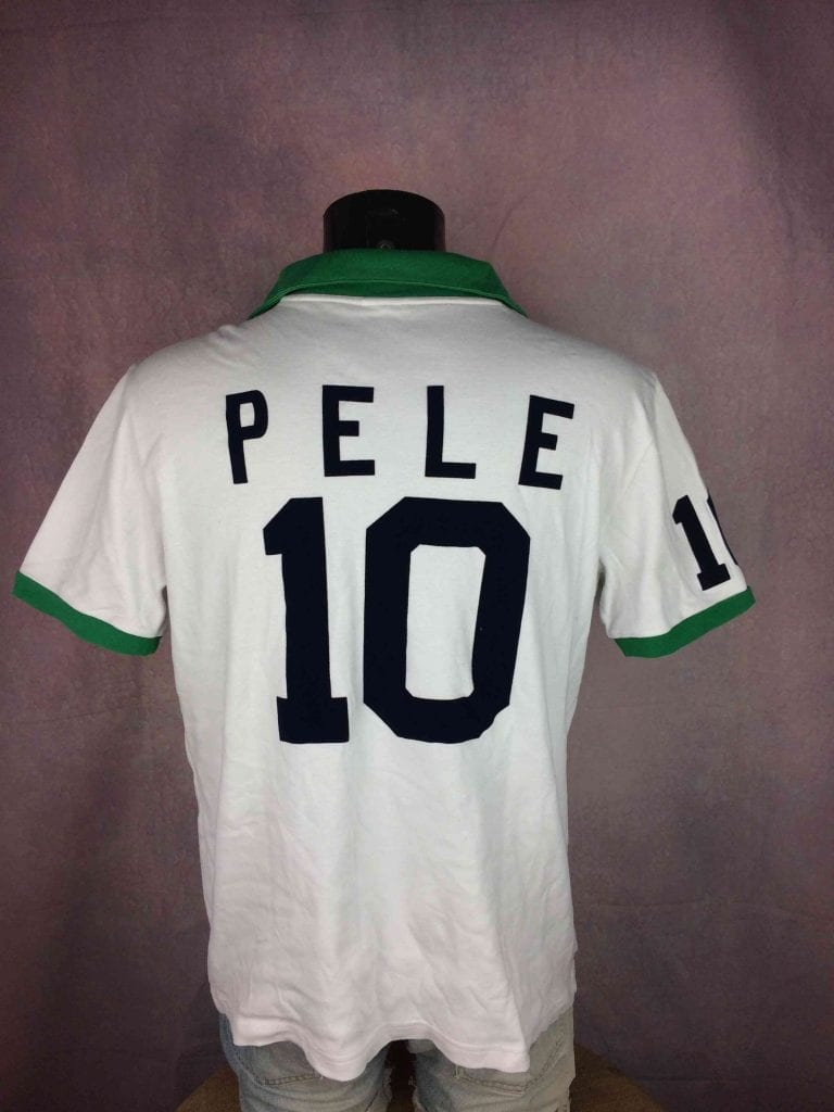 NEW YORK COSMOS Jersey Pele 10 1977 Replica Gabba Vintage 1 - Maillot du jour : New York Cosmos 1977