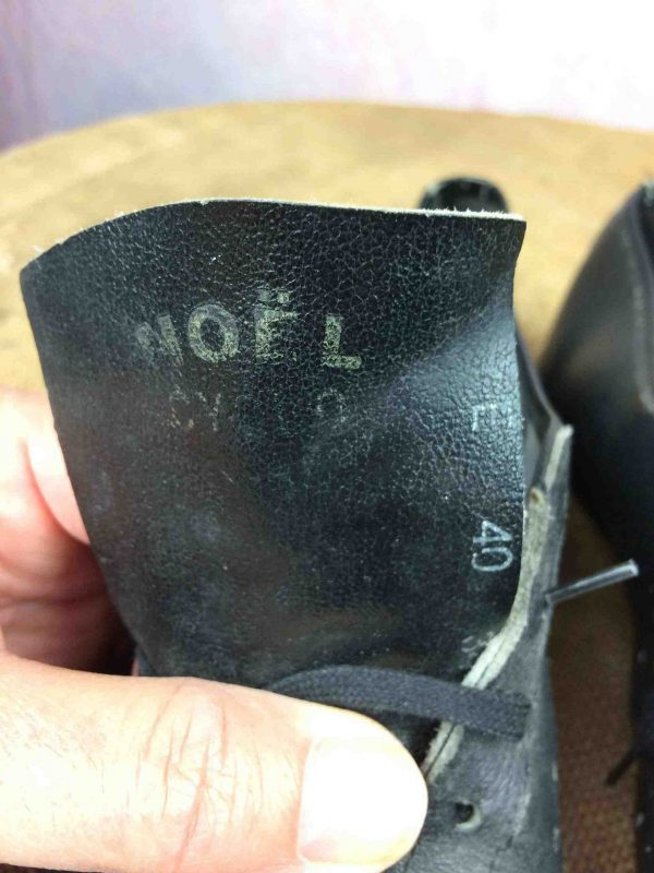 NOEL CYCLO Cycling Shoes Vintage 70 Eroica 40 Gabba Vintage 2 scaled - NOEL CYCLO Chaussure Vélo Vintage 70s EUR 40