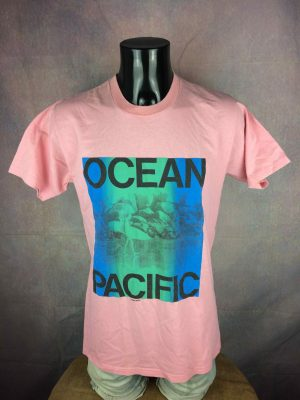 OCEAN PACIFIC T-Shirt Vintage 80s Made in USA - Gabba Vintage