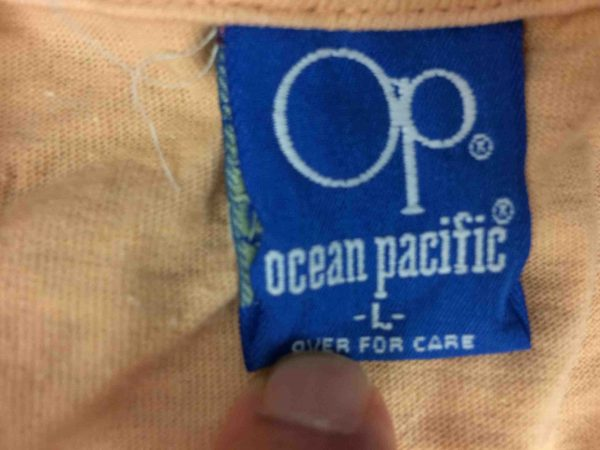 OCEAN PACIFIC T Shirt Vintage 80s Surf USA Gabba Vintage 5 scaled - OCEAN PACIFIC Vintage 80s T-Shirt Made in USA