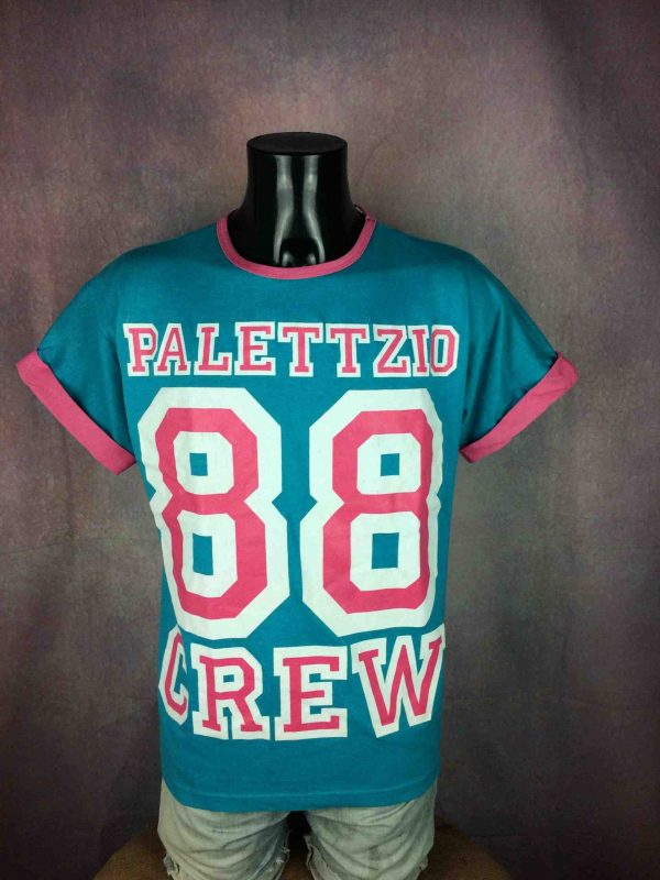 PALETTZIO T-Shirt Made In Usa Vintage 80s - Gabba Vintage