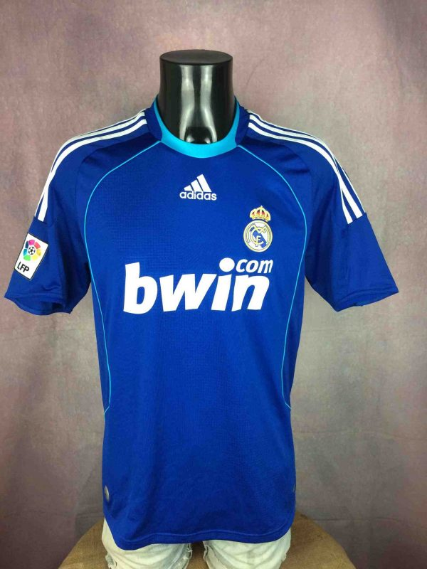 REAL MADRID Jersey 2008 2009 Away Adidas - Gabba Vintage