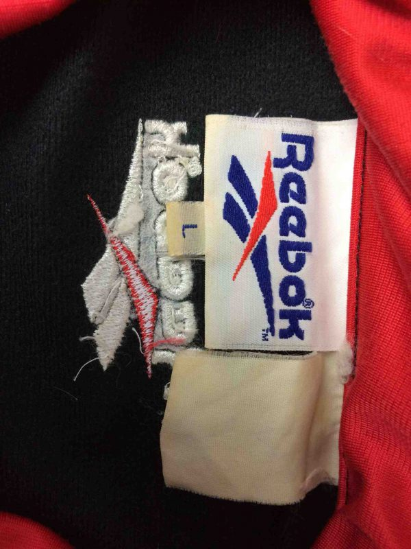 REEBOK Jacket Veste Vintage 90s Logo Black Gabba Vintage 1 scaled - REEBOK Veste Vintage 90s Logo Noir Sport