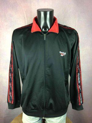 REEBOK Jacket Veste Vintage 90s Logo Black - Gabba Vintage