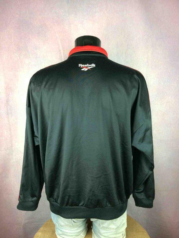 REEBOK Jacket Veste Vintage 90s Logo Black Gabba Vintage 5 scaled - REEBOK Veste Vintage 90s Logo Noir Sport