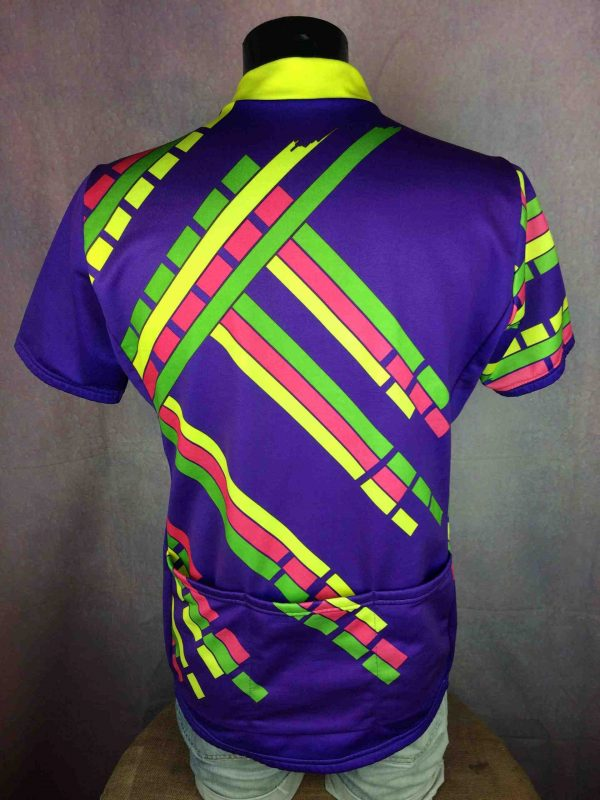 SANTINI SMS Jersey Vintage 90s Italy Eroica Gabba Vintage 4 scaled - SANTINI SMS Maillot Vintage 90s Made in Italy