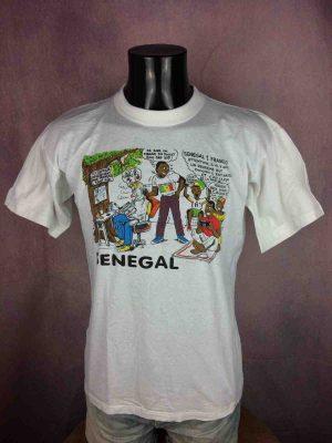 SENEGAL T-Shirt Vintage France Mundial 2002 - Gabba Vintage