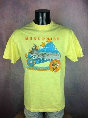 MEDCRUISE T-Shirt 1988 Vintage Made in USA - Gabba Vintage