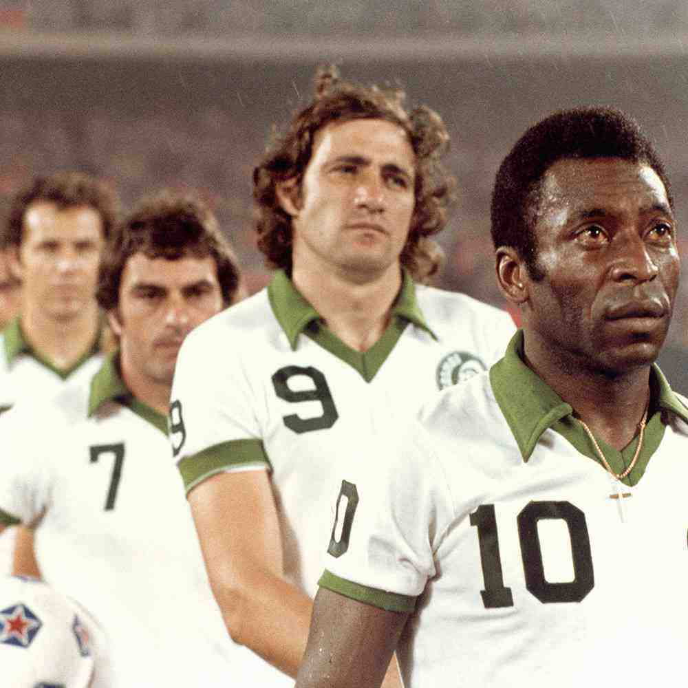 Maillot du jour : New York Cosmos 1977