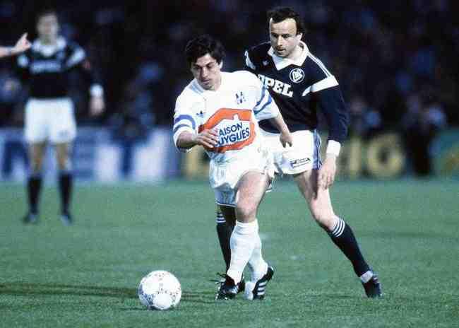 om bordeaux 1987 - Maillot du jour : Bordeaux 1987 -1988 UEFA
