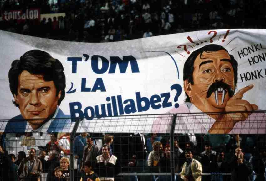tapie bez 1 - Maillot du jour : Bordeaux 1987 -1988 UEFA