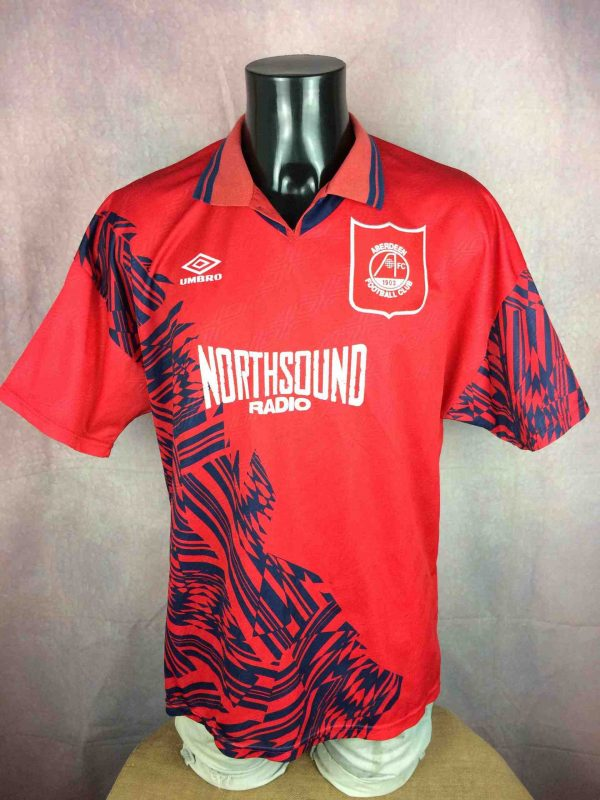 ABERDEEN FC Maillot Vintage 1994 Home Umbro