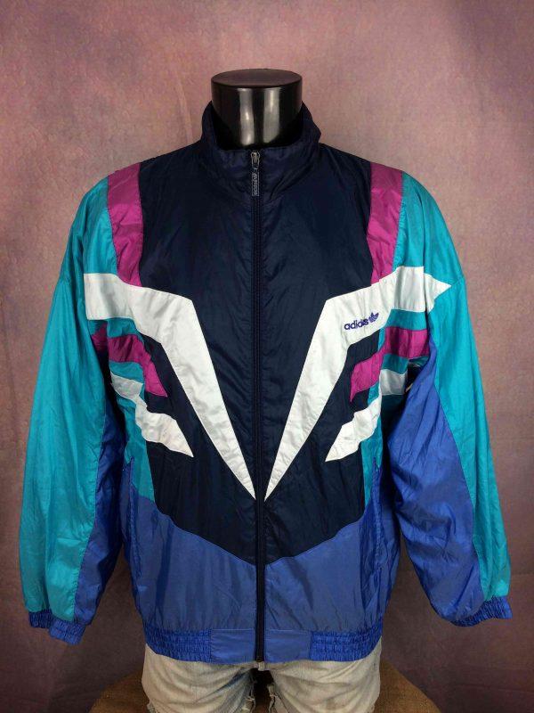 ADIDAS Jacket Made in Malaysia Vintage 90s - Gabba Vintage