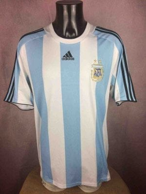ARGENTINA Maillot 2007 2009 Home Adidas AFA - Gabba Vintage