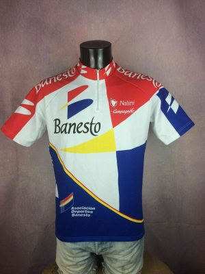 BANESTO Maillot Nalini Campagnolo Tour 1994 - Gabba Vintage
