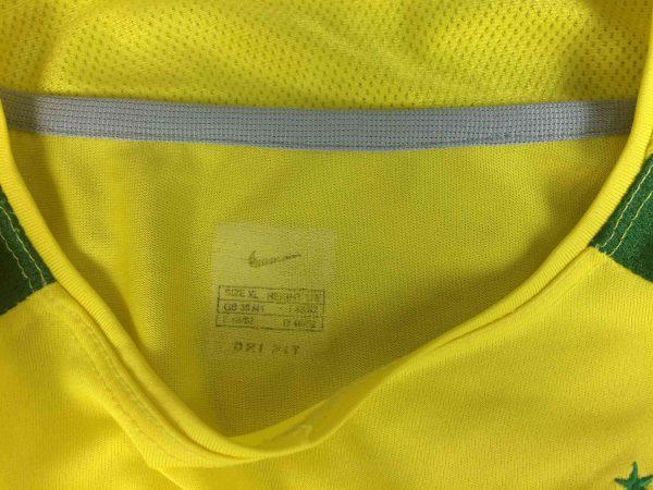 BRAZIL Maillot Vintage 2002 2003 Home Nike Gabba Vintage 3 scaled - BRAZIL Maillot Vintage 2002 2003 Home Nike
