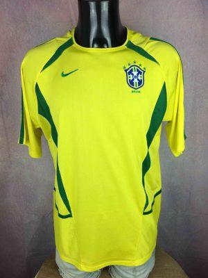 BRAZIL Maillot Vintage 2002 2003 Home Nike - Gabba Vintage
