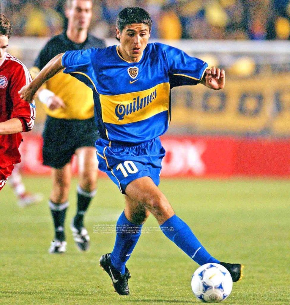 Boca Juniors Riquelme