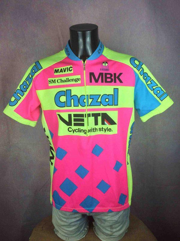 CHAZAL Vetta MBK Maillot Giessegi Tour 1993 - Gabba Vintage