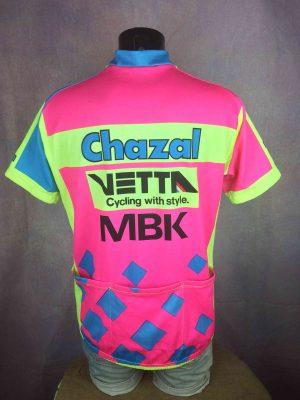 CHAZAL Vetta MBK Maillot Giessegi Tour 1993 Gabba Vintage 5 - Home
