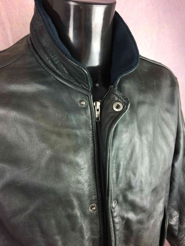 CHEVIGNON Veste Jacket Flying Wear Cuir VTG Gabba Vintage 3 scaled - CHEVIGNON Veste Jacket Flying Wear Cuir VTG