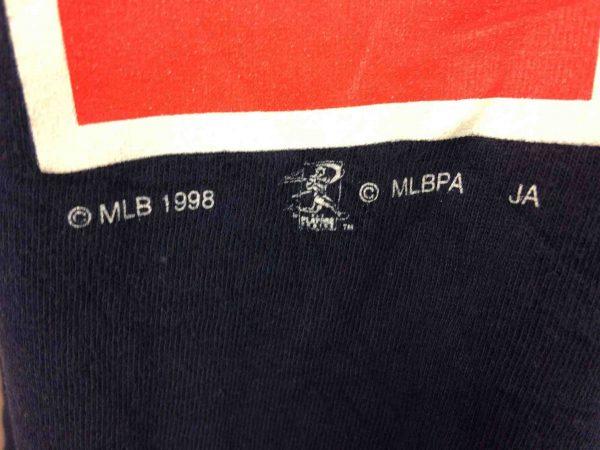 CLEVELAND INDIANS T Shirt Vizquel VTG 1998 Gabba Vintage 7 scaled - CLEVELAND INDIANS T-Shirt Vintage 1998 MLB