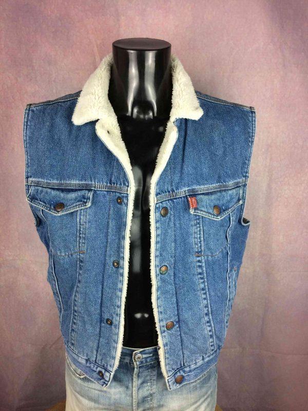 COMPLICES Veste Gilet Jeans Denim Vintage 90 - Gabba Vintage