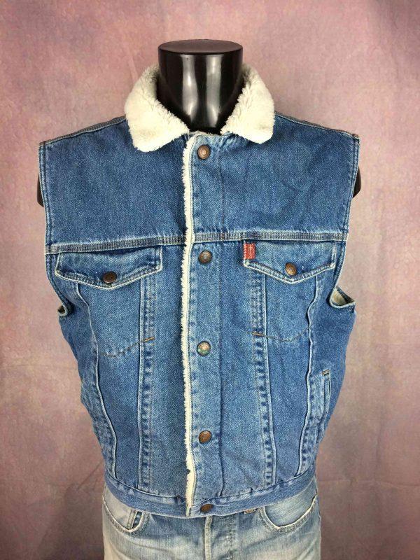 COMPLICES Veste Gilet Jeans Denim Vintage 90 Gabba Vintage 4 scaled - COMPLICES Veste Gilet Jeans Denim Vintage 90