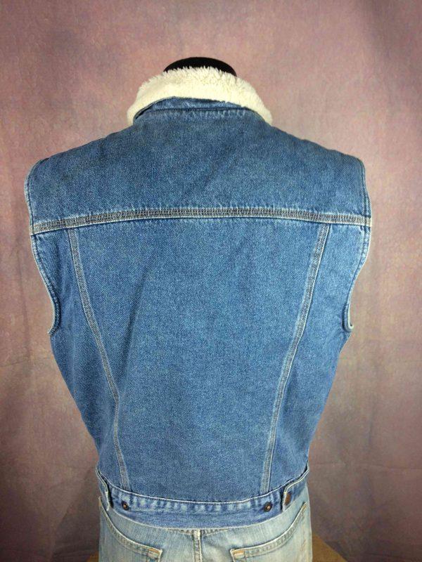 COMPLICES Veste Gilet Jeans Denim Vintage 90 Gabba Vintage 6 scaled - COMPLICES Veste Gilet Jeans Denim Vintage 90