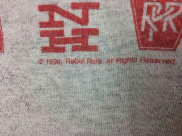 CONRAIL QUALITY T Shirt VTG 1998 Rebel Rails Gabba Vintage 4 scaled - CONRAIL QUALITY T-Shirt VTG 1998 Rebel Rails