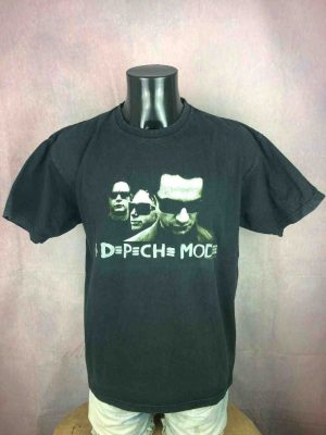 T-Shirt DEPECHE MODE, édité pour  Touring The Angel 2005 2006, double face, Official License, vrai Vintage 00s, Concert Tour