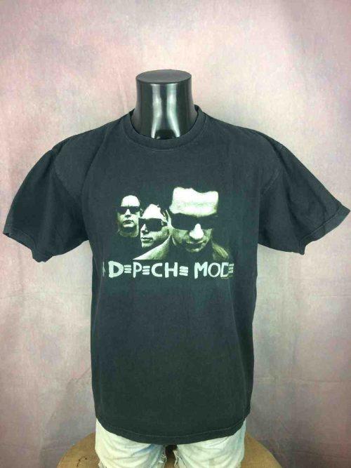 T-Shirt DEPECHE MODE, édité pour Touring The Angel 2005 2006, double face, Official License, vrai Vintage 00s, Concert Tour